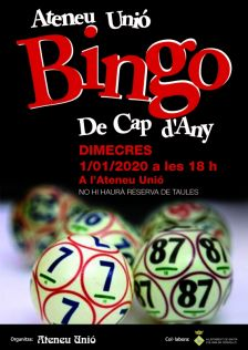 Bingo de Cap d'Any
