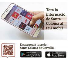 Descarrega't al teu mòbil la nova app de Santa Coloma de Cervelló