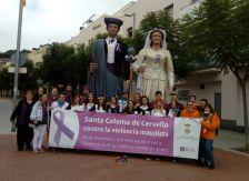 la 6ª Marxa El Baix Llobregat contra la violència masclista