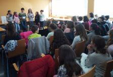 Les Cooperatives escolares recullen el NIF en un acte celebrat a la Sala de Plens de l'Ajuntament