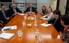 Reunió a la seu del Ministeri de Foment