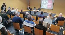 L'alcaldessa i el diputat van presentar el proejcte a la Sala de Plens
