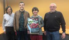 Daniel Soriano és el guanyador del concurs de cartells de la 34a Festa de la Cirera