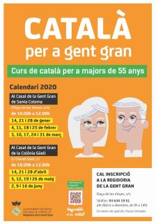 Classes de català per a gent gran