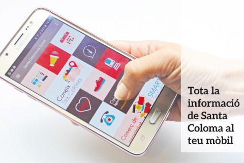 Descarregat al teu mòbil l'app de Santa Coloma de Cervelló
